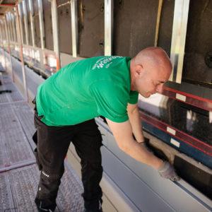Hansen Mitarbeiter Baustelle
